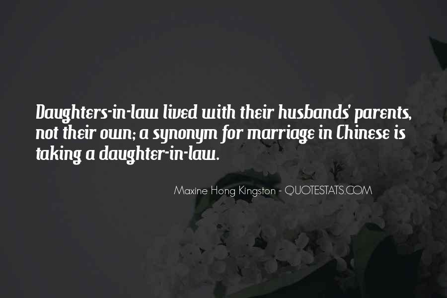 Quotes About Your Daughter And Husband #717210