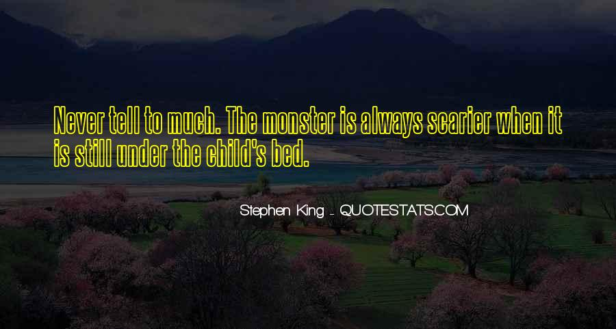 Quotes About Under The Bed #512899
