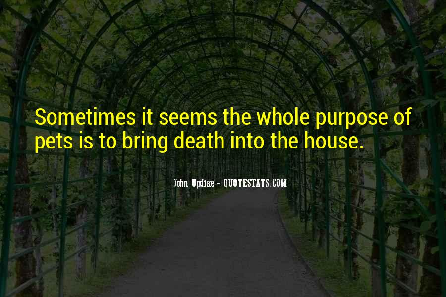 Quotes About Pets And Death #894720