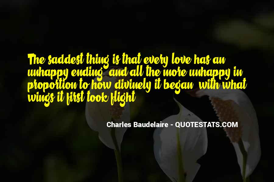 Quotes About Love Unhappy #65060