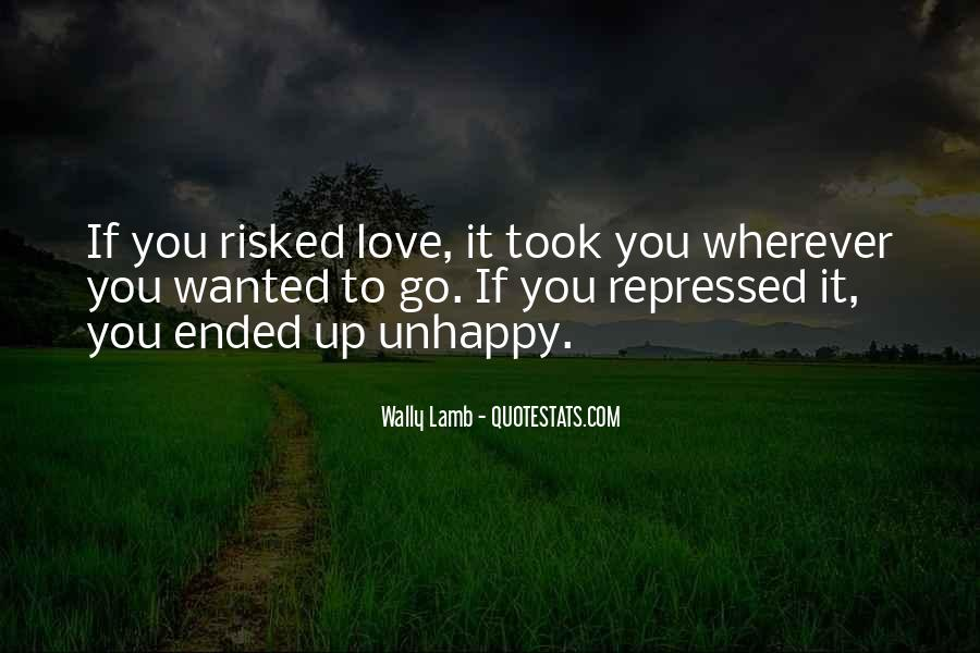 Quotes About Love Unhappy #701845