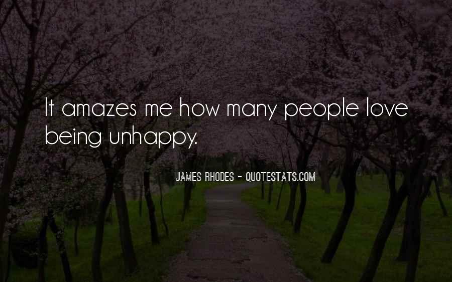 Quotes About Love Unhappy #895125