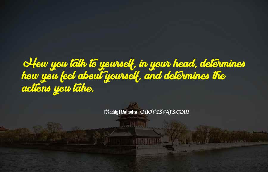Quotes About Negative Self Talk #1058777