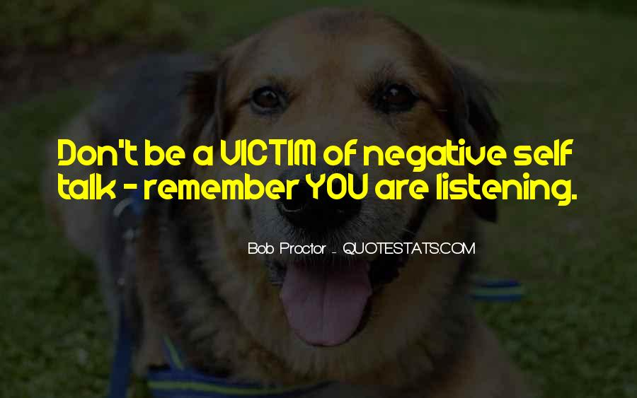 Quotes About Negative Self Talk #1237571