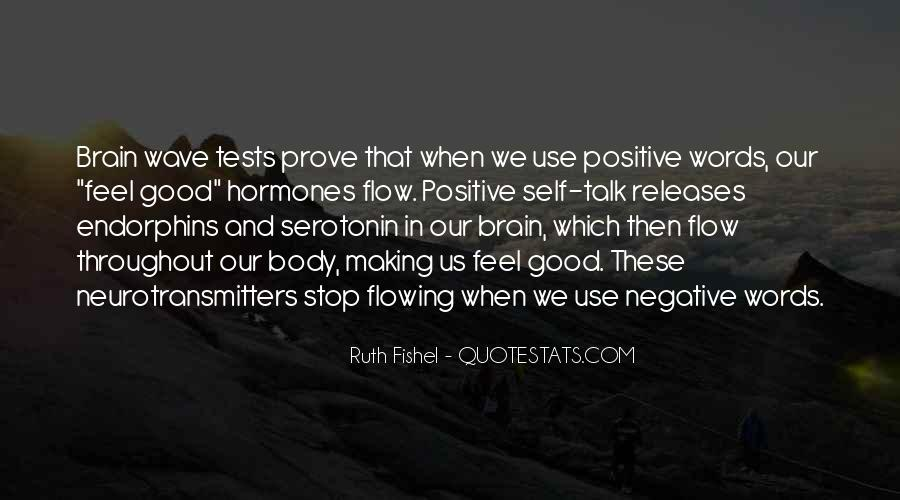 Quotes About Negative Self Talk #169104
