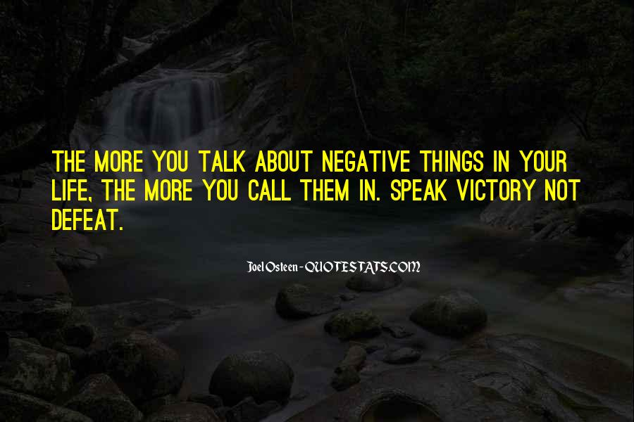Quotes About Negative Self Talk #348159