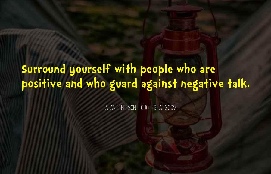 Quotes About Negative Self Talk #37863