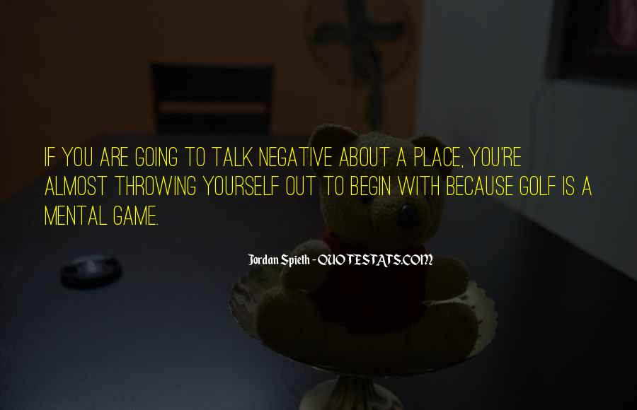 Quotes About Negative Self Talk #768675