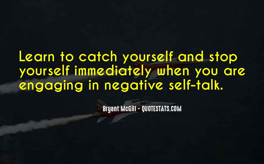 Quotes About Negative Self Talk #782585