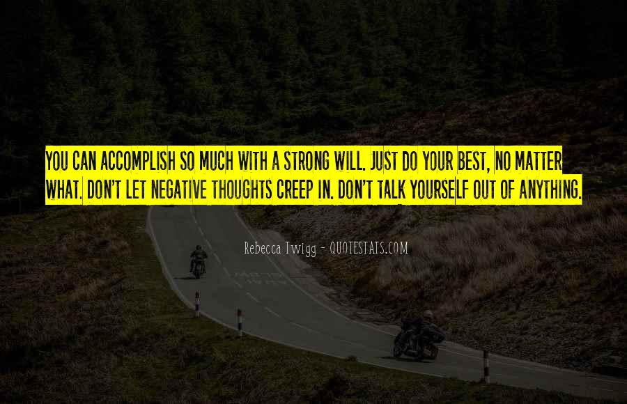 Quotes About Negative Self Talk #835639