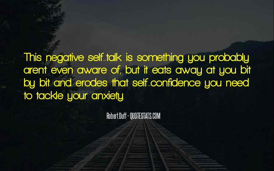 Quotes About Negative Self Talk #979449