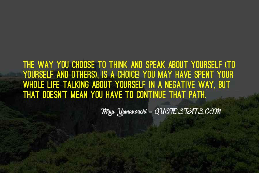 Quotes About Negative Self Talk #989707