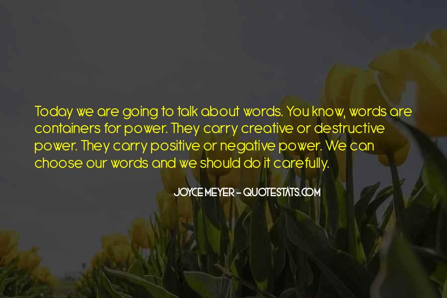 Quotes About Negative Self Talk #99647