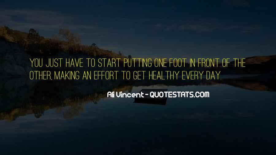 Quotes About Someone Not Putting In Effort #43959