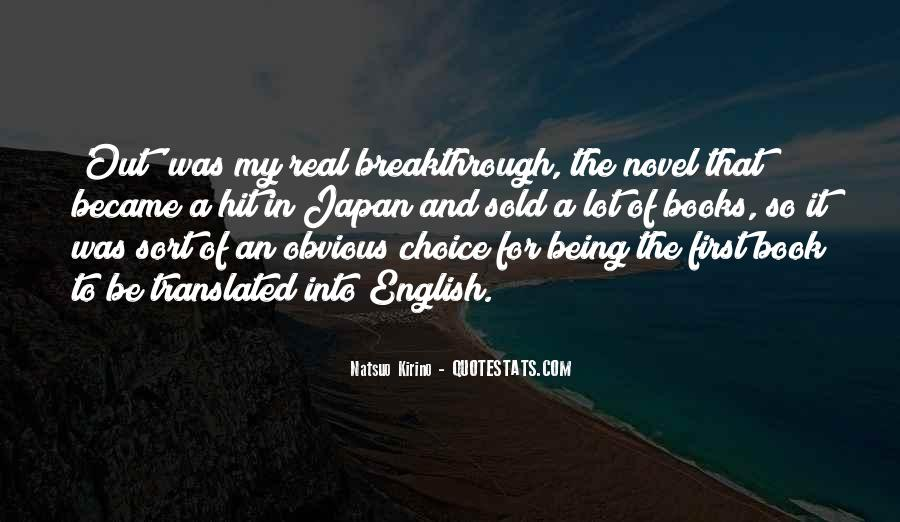 Quotes About Not Being Someone's First Choice #1848686