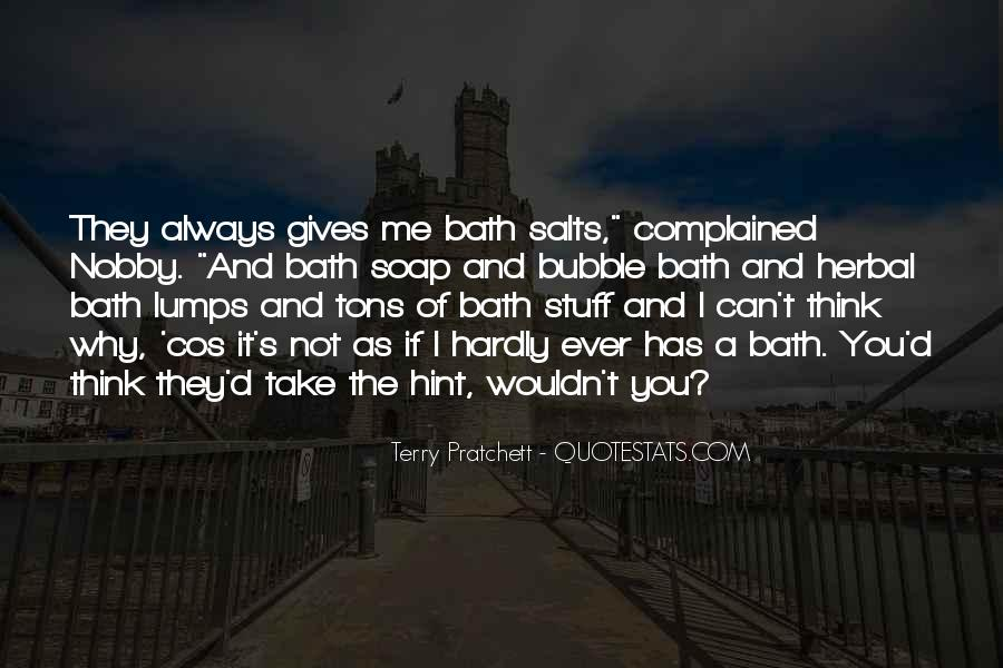 Quotes About Baths #518274