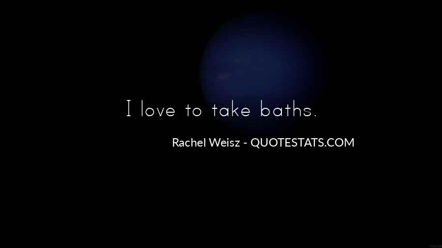 Quotes About Baths #535610