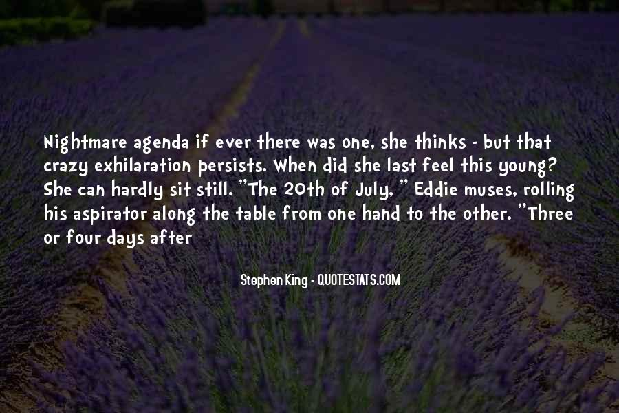 Quotes About Crazy Days #577908