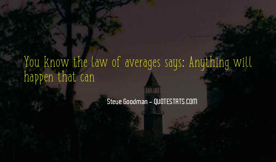 Quotes About Averages #854982
