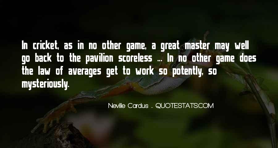 Quotes About Averages #981021