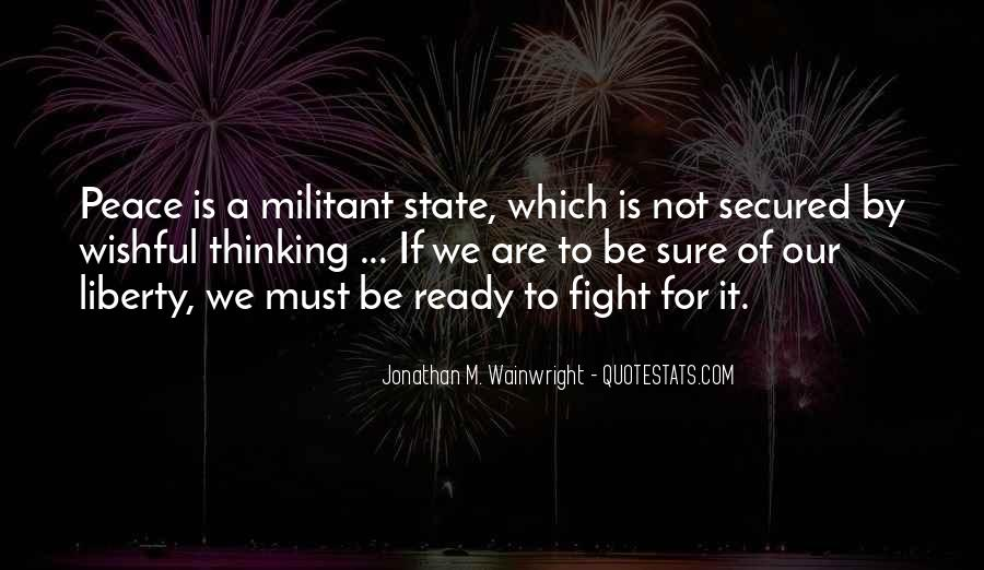 Quotes About Ready To Fight #1080724