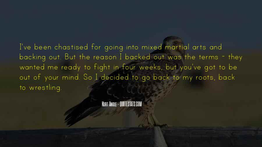 Quotes About Ready To Fight #36345
