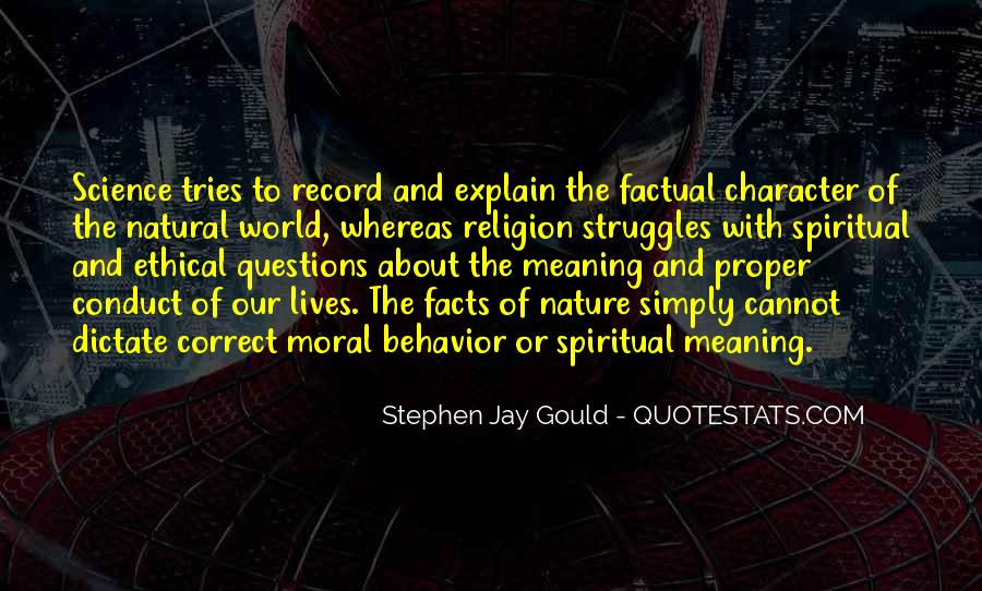 Quotes About Science And Ethics #1651794