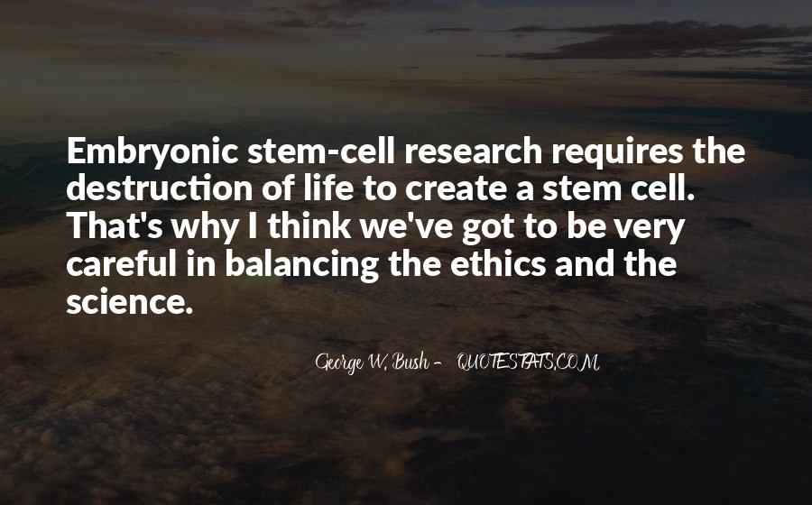 Quotes About Science And Ethics #1773447