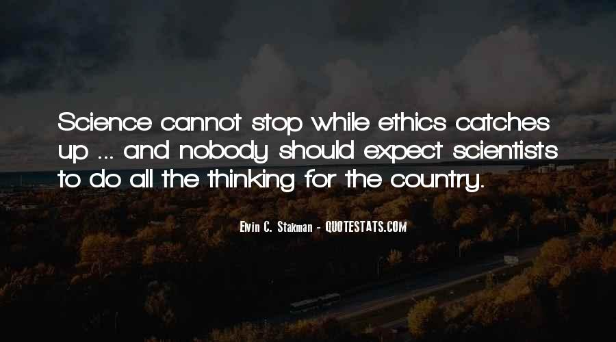 Quotes About Science And Ethics #339171