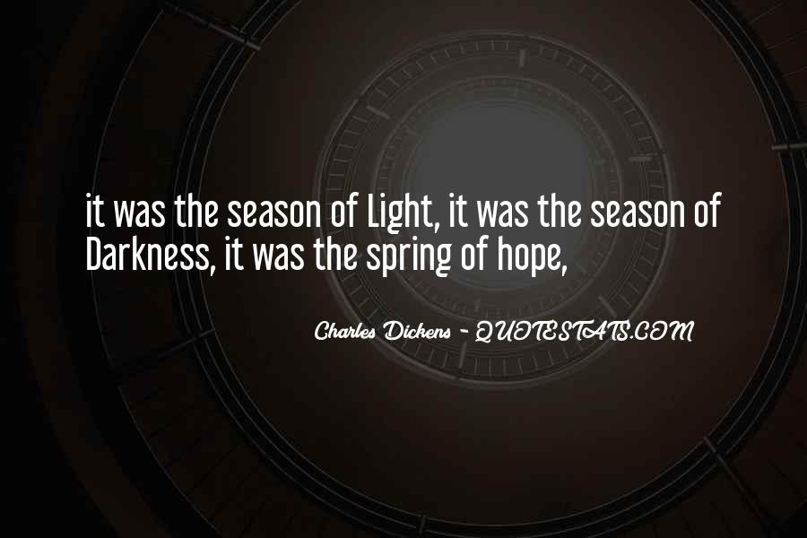 Quotes About Hope In Darkness #102657