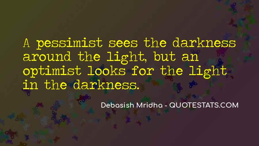Quotes About Hope In Darkness #169816