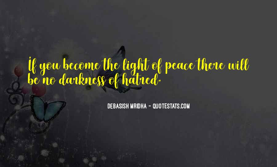 Quotes About Hope In Darkness #179152