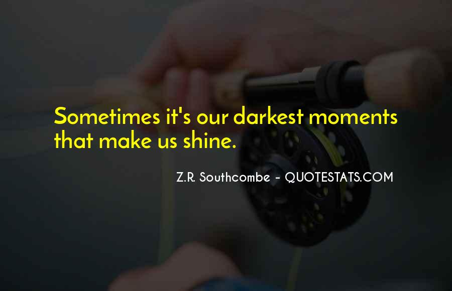 Quotes About Hope In Darkness #196680