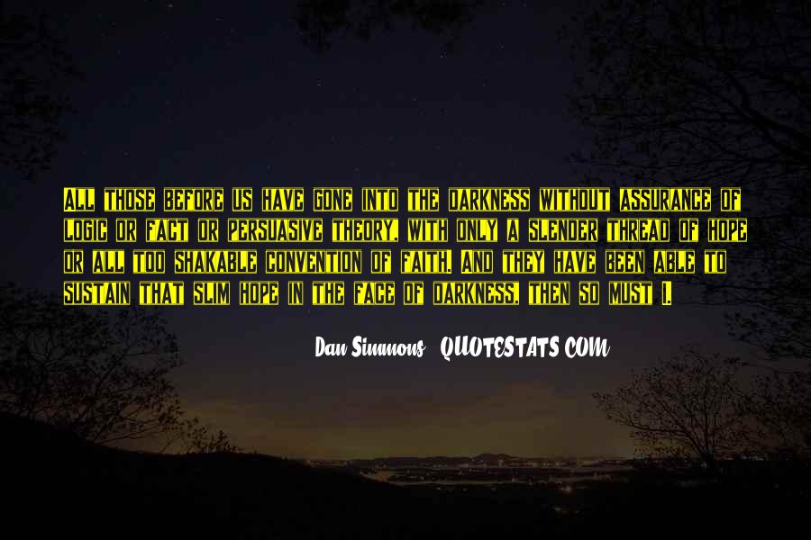 Quotes About Hope In Darkness #204350