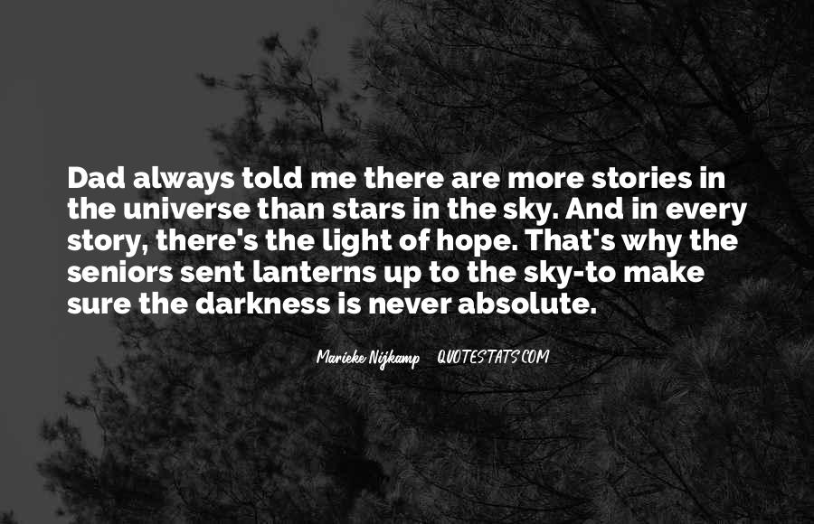 Quotes About Hope In Darkness #208415