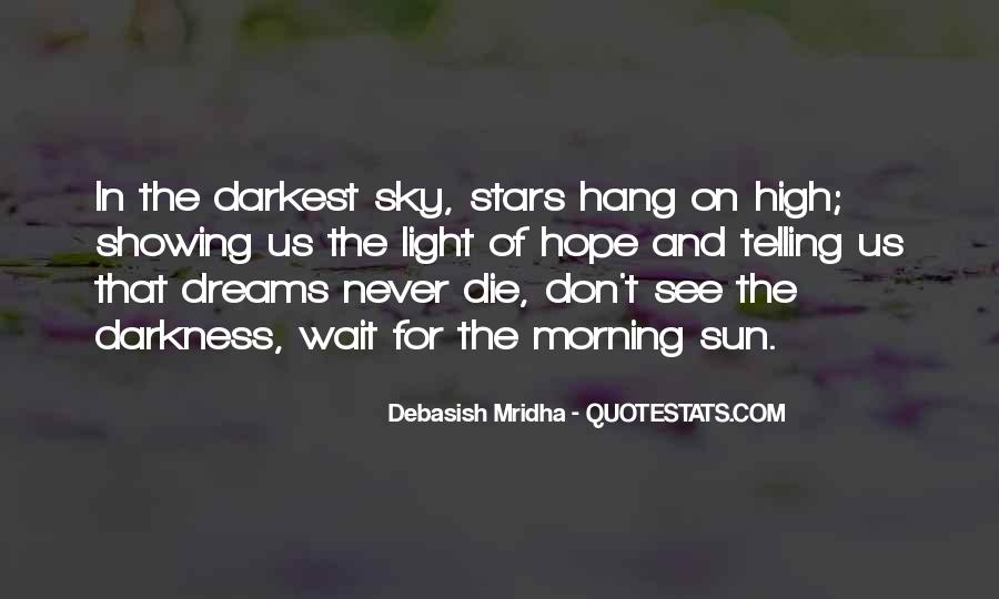 Quotes About Hope In Darkness #249991