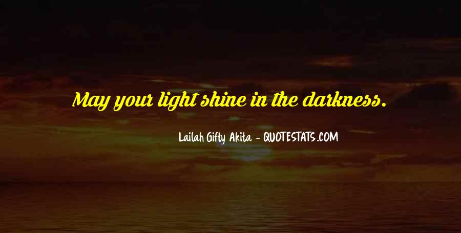 Quotes About Hope In Darkness #291210