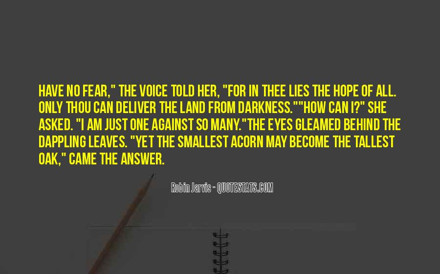 Quotes About Hope In Darkness #292546