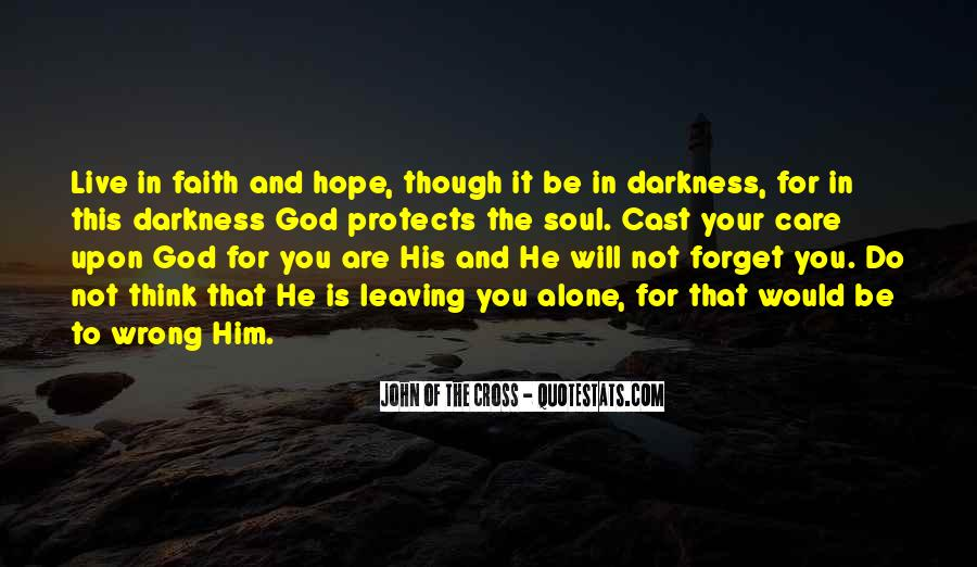 Quotes About Hope In Darkness #301954