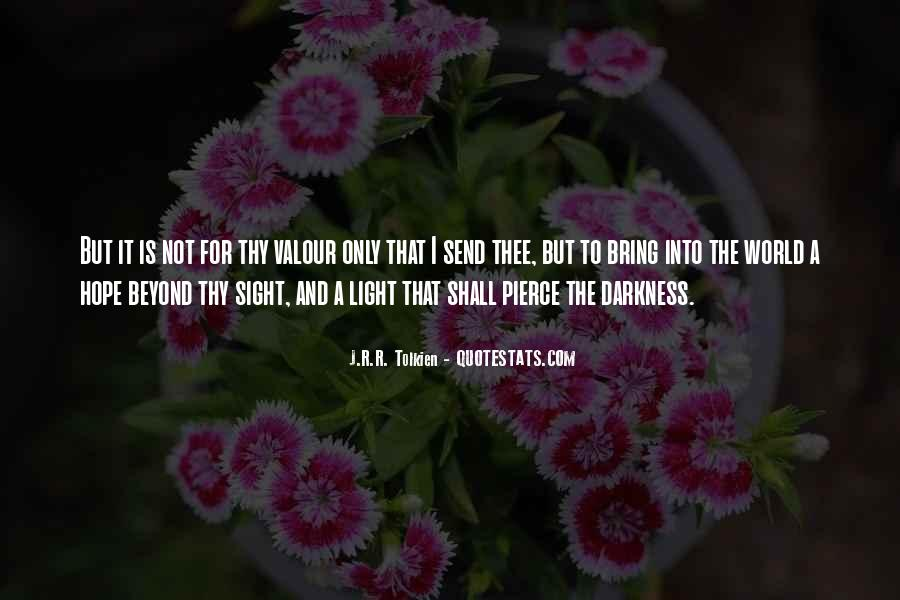 Quotes About Hope In Darkness #351503
