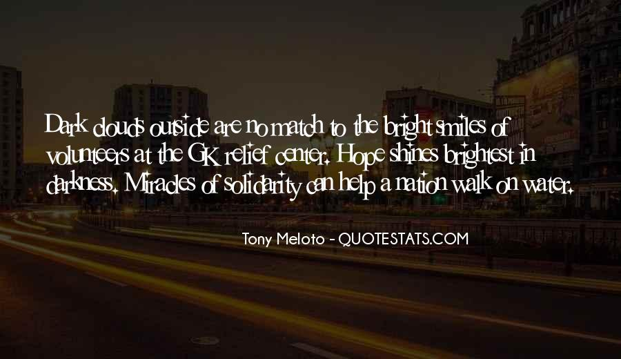 Quotes About Hope In Darkness #381859