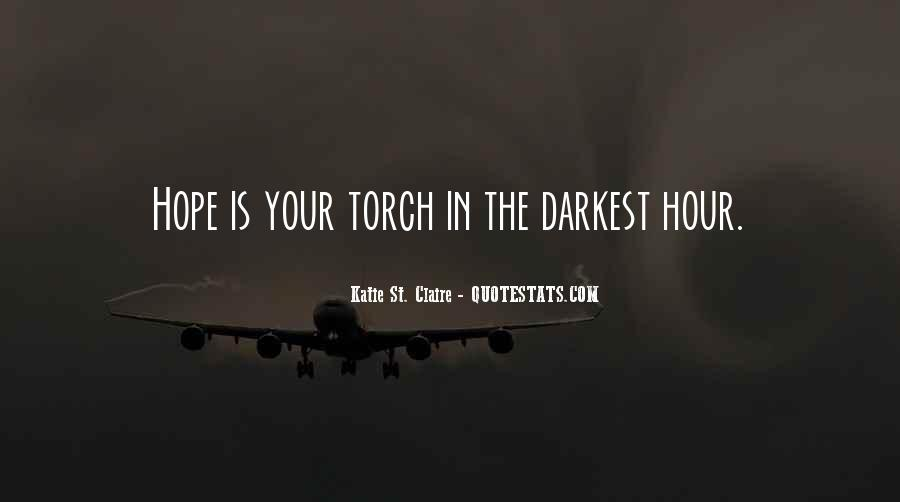 Quotes About Hope In Darkness #399653