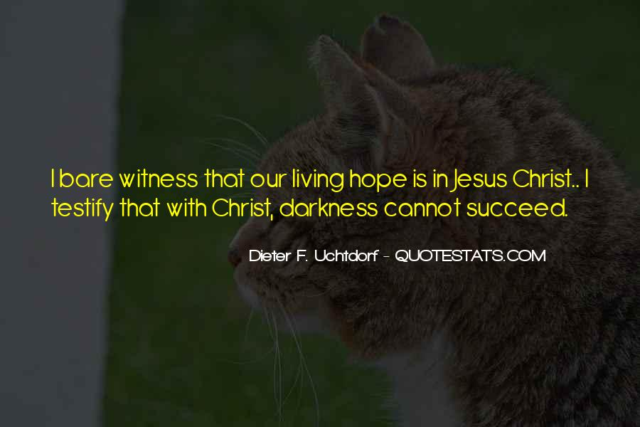Quotes About Hope In Darkness #467088
