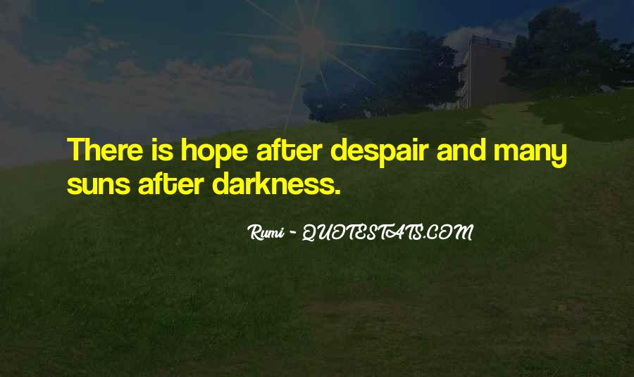 Quotes About Hope In Darkness #499934