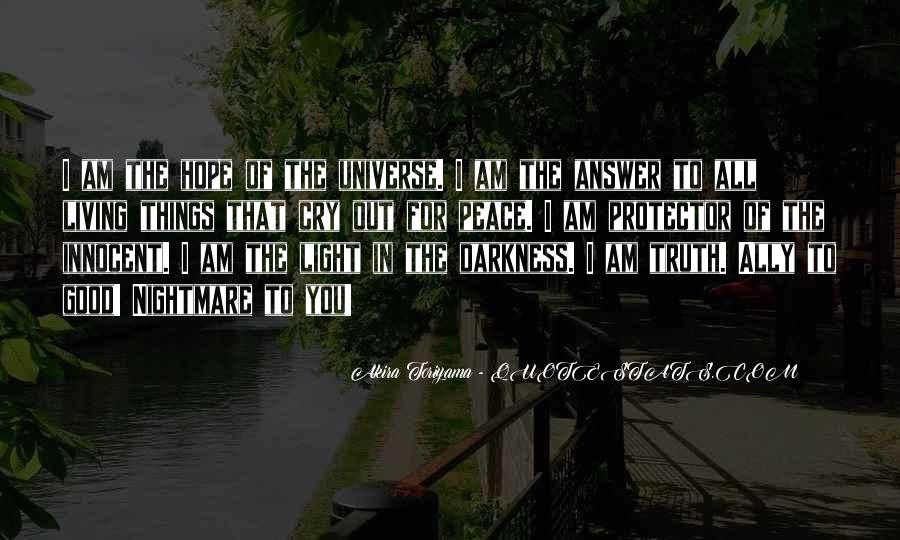 Quotes About Hope In Darkness #542861