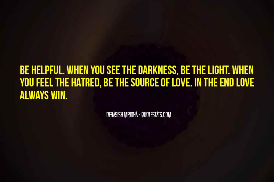 Quotes About Hope In Darkness #654328