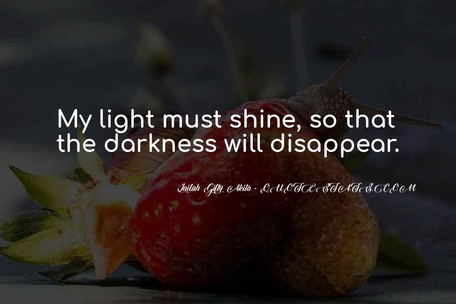 Quotes About Hope In Darkness #83425