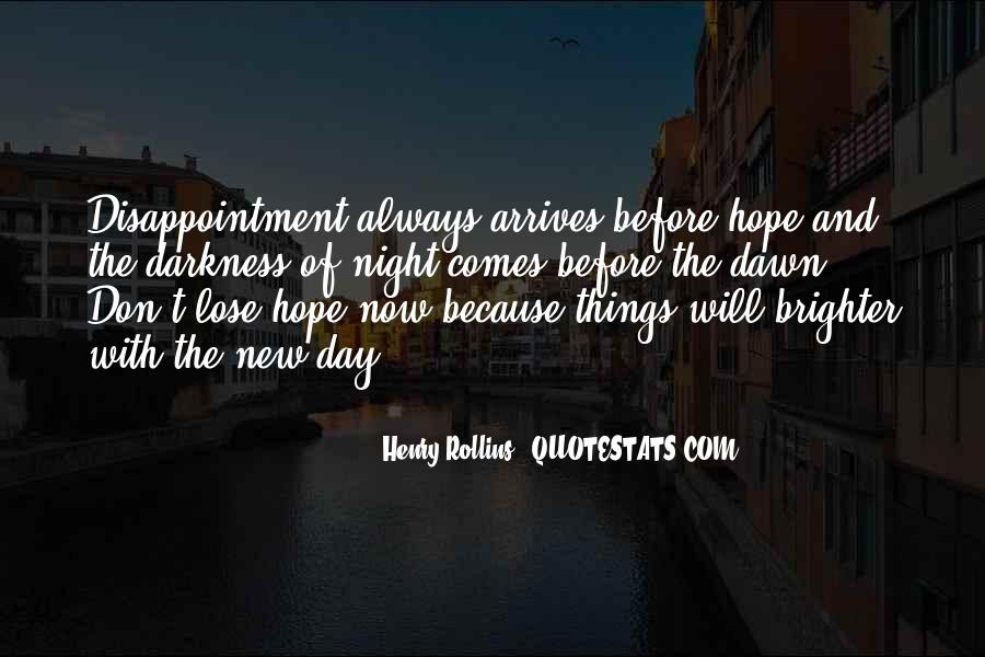 Quotes About Hope In Darkness #87993