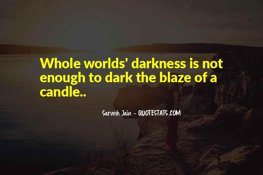 Quotes About Hope In Darkness #92684