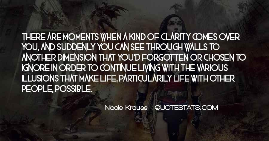 Quotes About Clarity In Life #1182454